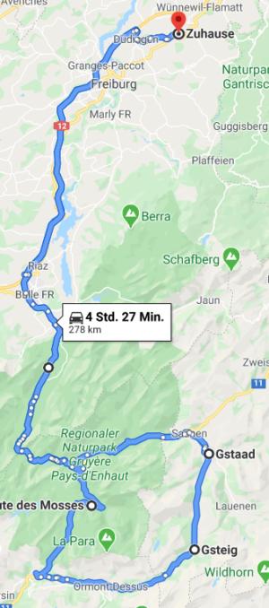 Über den Col de Pillon